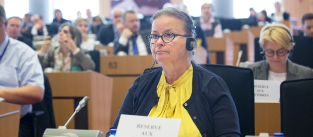 Opolska Europosłanka broni polskich firm transportowych w Brukseli
